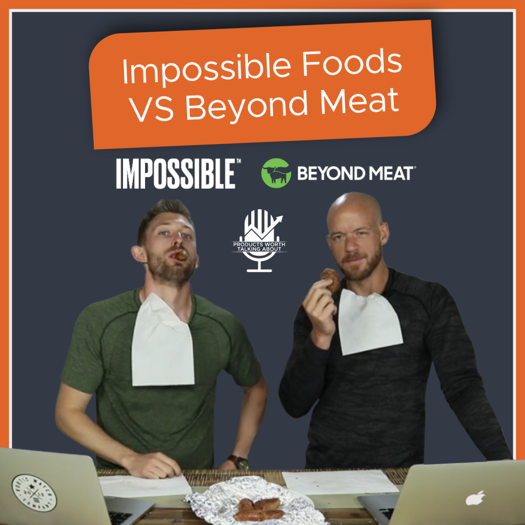 Impossible Foods vs Beyond Meat