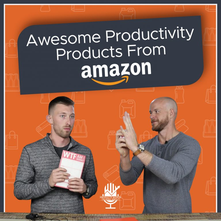 Awesome productivity products from Amazon