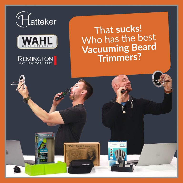 That Sucks! Who has the best Vacuuming Beard Trimmers?